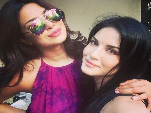 Priyanka Chopra, Sunny Leone spend time together in New York