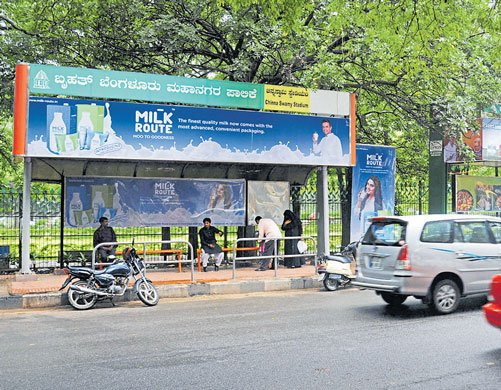 Govt approves construction of 2,212 bus shelters in B'luru