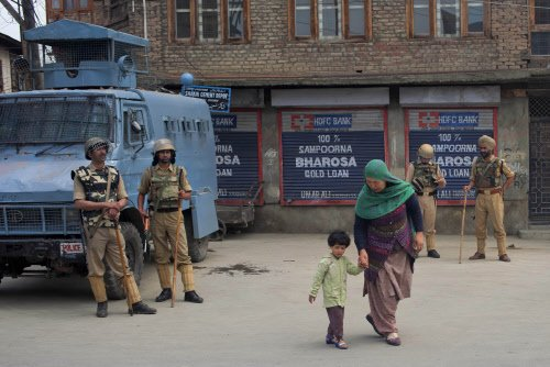 Curfew imposed in entire Valley on Eid, choppers and drones keeping vigil