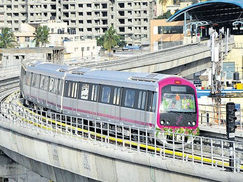 Metro, BMTC start operations late in the evening