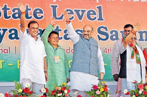 BJP ready to take on Congress in Manipur, says Amit Shah