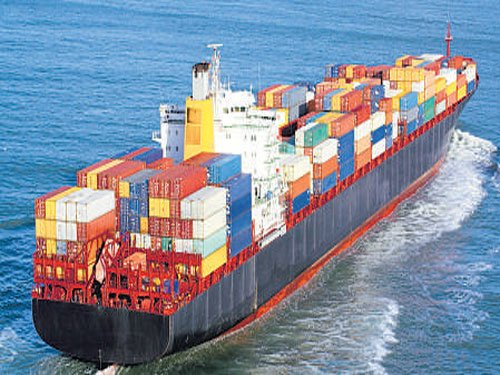 Exports slip for 2nd straight month, fall 0.3% in Aug
