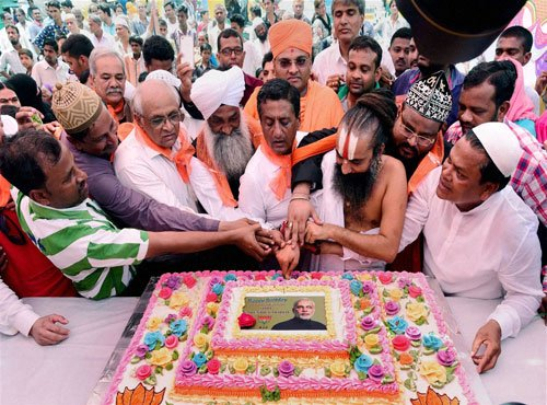 PM's birthday events set three Guinness world records: Gehlot
