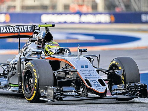 Force India defies odds