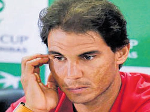 It was a tough match, says Nadal