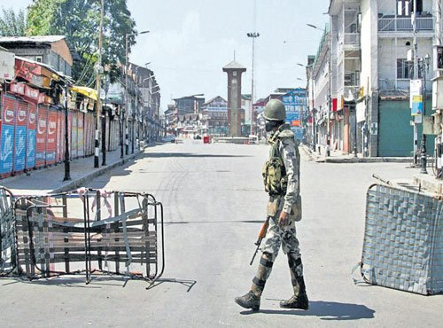Barring Srinagar, curfew lifted across Kashmir