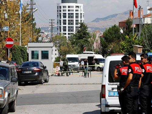 Knife attacker shot outside Israeli embassy in Ankara