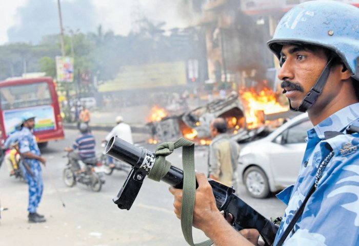 Byatarayanapura inspector shunted out for failing to curb Cauvery riots