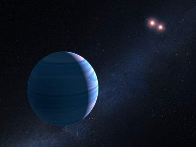 NASA's Hubble finds planet orbiting two stars