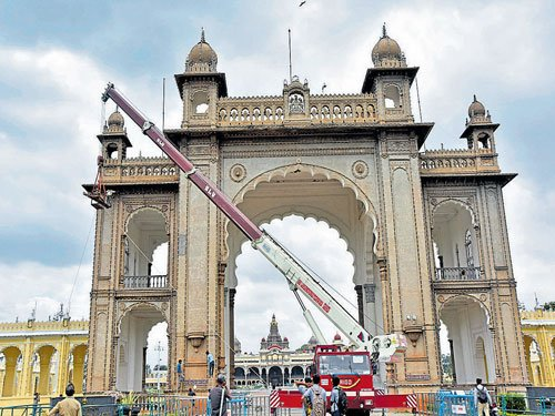 City of Palaces getting ready for Dasara festivities