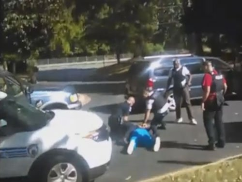 Family releases shocking video of Charlotte shooting