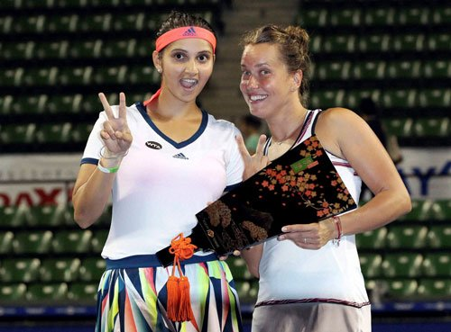 Sania Mirza-Barbora Strycova win Toray Pan Pacific Open