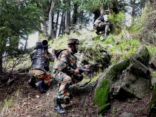 Security forces arrest two PoK nationals