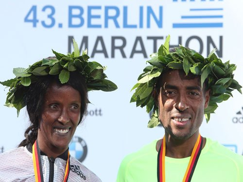 Bekele clocks second best marathon time