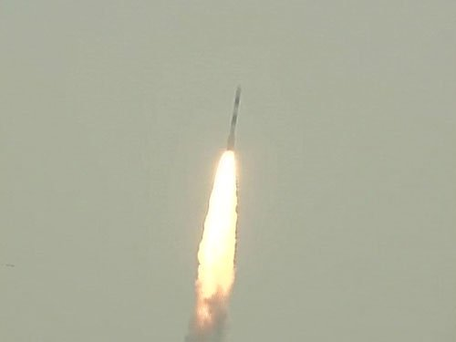 ISRO's PSLV-C35 carrying eight satellites launched from Sriharikota