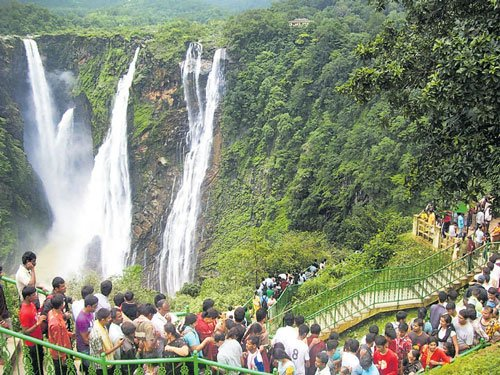 Experts, locals oppose project to make Jog all-season waterfall