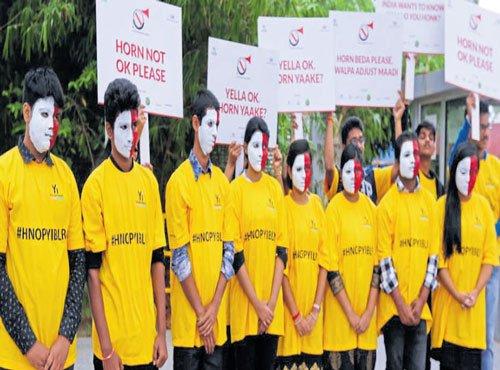Awareness programmes mark 'Horn Not OK' campaign