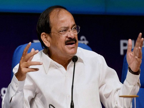 Strife over Cauvery not a sign of healthy democracy: Venkaiah