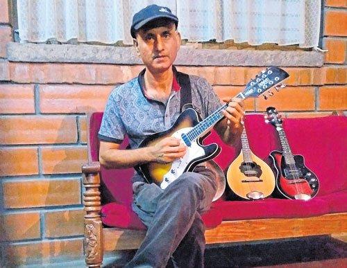 Man with the mandolin