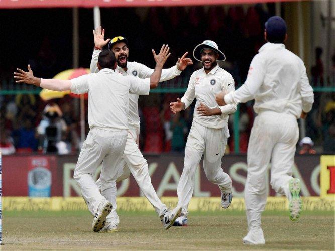 India to reclaim ICC Test top spot if it wins in Kolkata
