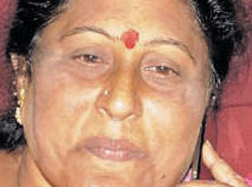 Padmavathi is Cong mayor candidate