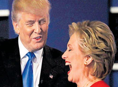 Hillary assails Trump in first TV debate