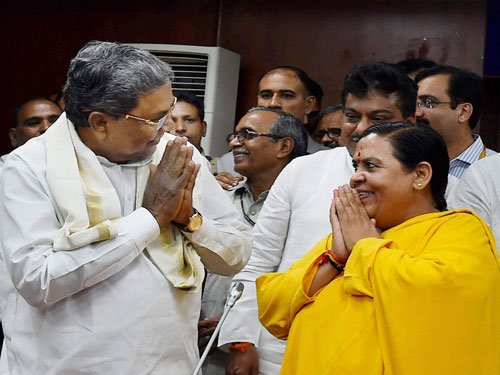 May go on hunger strike if K'taka, TN fight over Cauvery: Uma