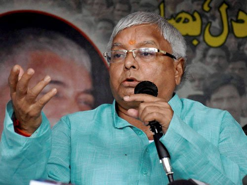 Don't drag army in cheap politics: Lalu