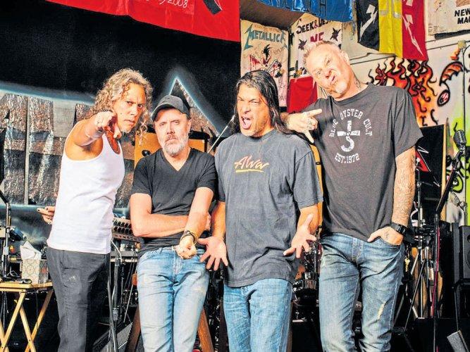 Metallica, still thrashing but comfortably adult   Deccan Herald