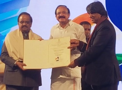 SP Balasubrahmanyam honoured with centenary award