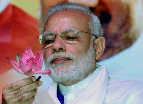 UP official suspended for posting 'objectionable' picture of Modi on WhatsApp