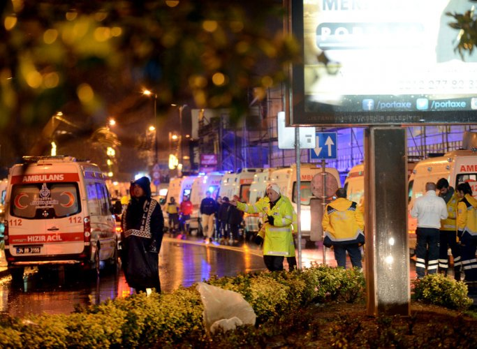 Istanbul nightclub attack kills 39 in New Year carnage