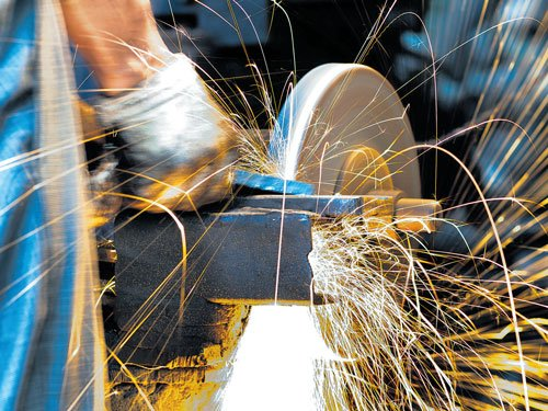 Manufacturing slips into contraction on cash crunch: PMI data