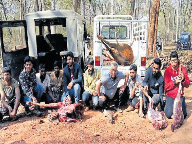 Shock start to the Year of the Wild,  11 poachers of Sambar deer caught