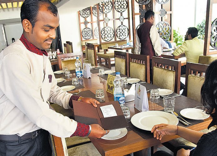 Hotel staff were sharing spoils,  but new order will spoil their party