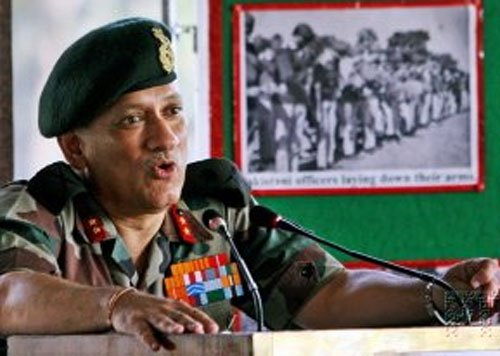 Will give 'hard' response to terrror from across border: Army Chief Rawat