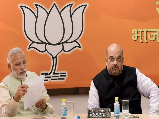 BJP's dilemma:  To name or not  to name CMs