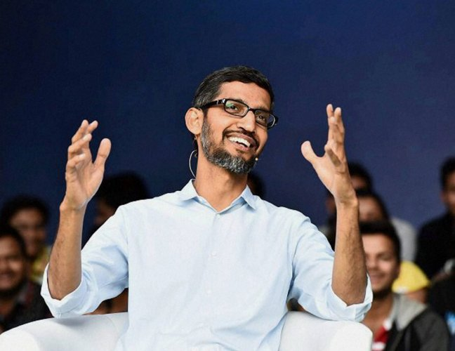Big software companies to come out of India in 3-4 yrs: Pichai