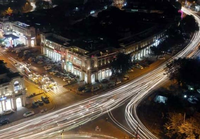 No cars, buses from Feb in Connaught Place