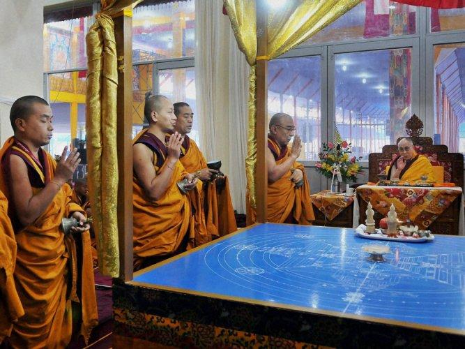China denies pressuring Tibetans not to attend Kalachakra
