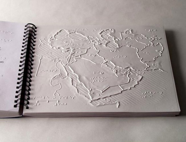 Free Braille maps to 300 schools