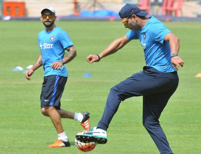 Kohli named captain; Yuvi back