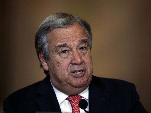 Pak hands over dossier on 'India's interference' to UN chief