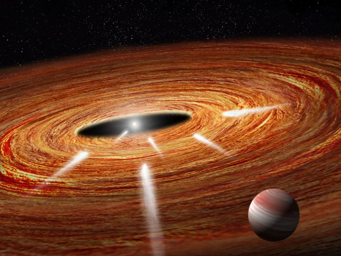 Hubble spots exocomets plunging into young star