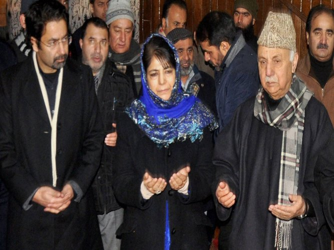 Peace in JK will compel India, Pak to end animosity: Mehbooba