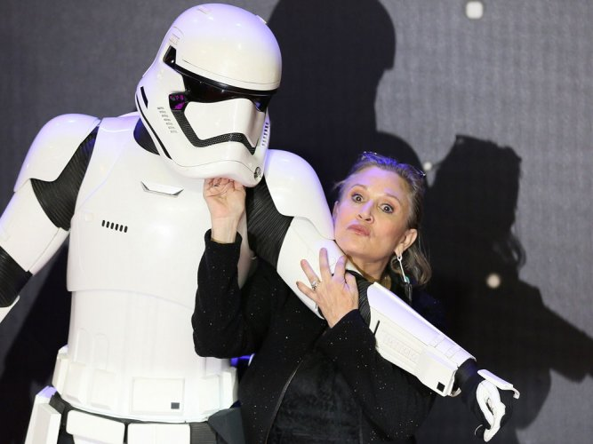 Fans want Carrie Fisher's Leia recognised as Disney Princess
