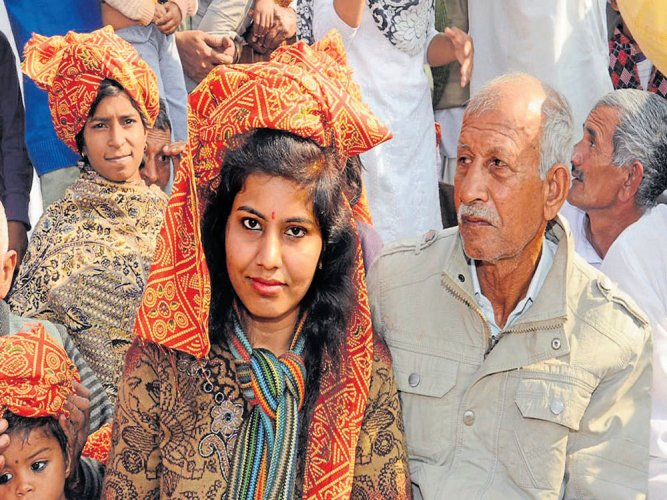Haryana village crowns daughters with pagris