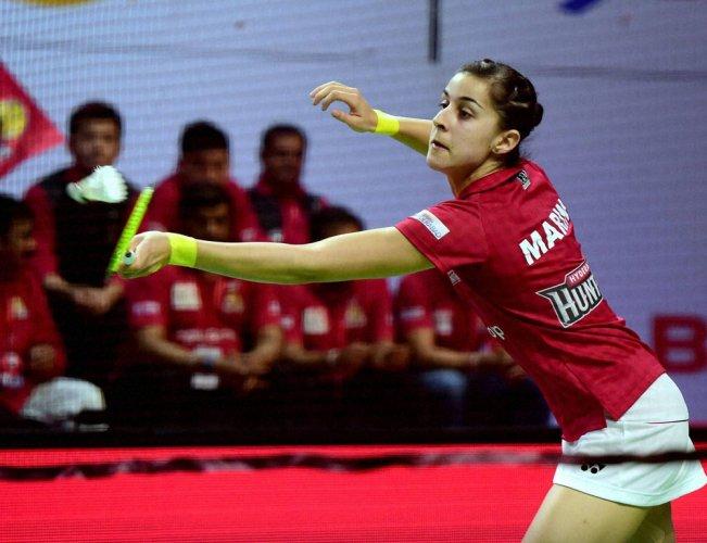 Marin sees off Ponnappa as Hyderabad beat Bengaluru
