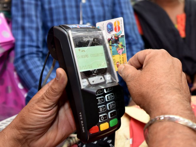 'Debit card transactions rise by 187%'