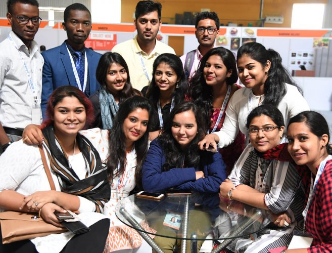 Students say sessions, interactions help them in their career, studies